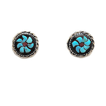 ROSE CALAVASSO,  ZUNI EARRINGS