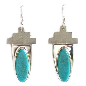 UNKNOWN ARTIST, NAVAJO EARRINGS