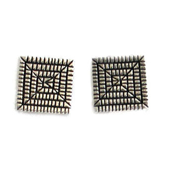 ELGIN TOM, NAVAJO EARRINGS