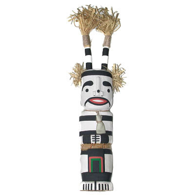 CLOWN KACHINA, MANUEL CHAVARRIA