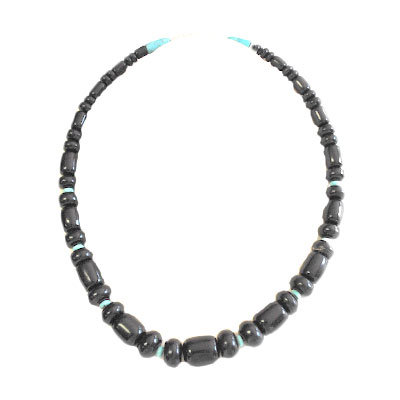 UNKNOWN ARTIST, JET BEAD NECKLACE