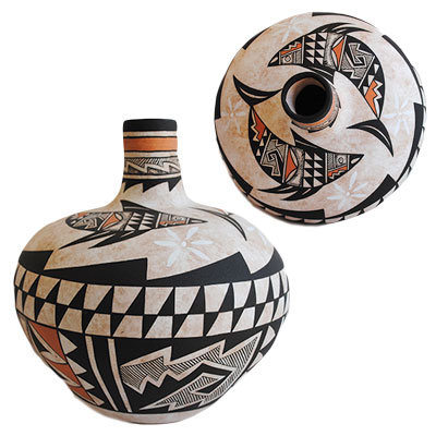 WESTLY BEGAYE, NAVAJO POTTERY