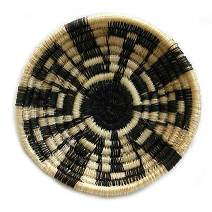 HORSEHAIR BASKET, ROSE THOMAS