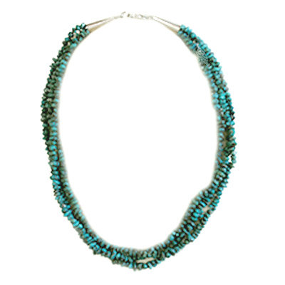 UNKNOWN ARTIST, TURQUOISE BEAD NECKLACE