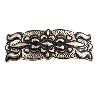 JENNIE BLACKGOAT, SILVER BARRETTE