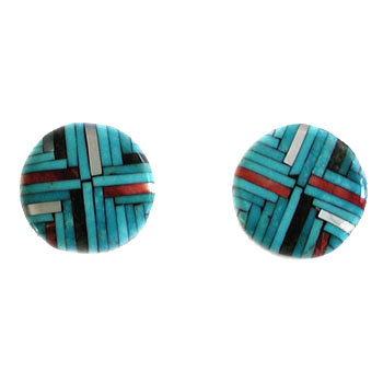 JOE & ANGIE REANO, SANTO DOMINGO CLIP EARRINGS