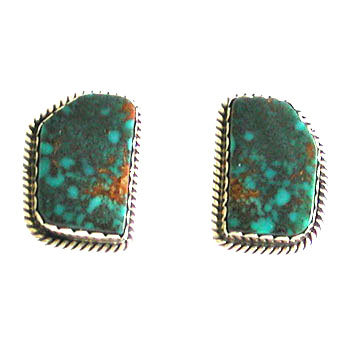 UNKNOWN ARTIST, NAVAJO CLIP EARRINGS