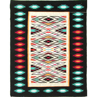 NAVAJO, TEEC NOS POS RUG, UNKNOWN WEAVER