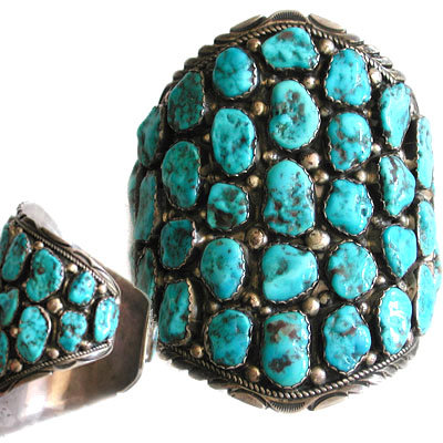 UNKNOWN ARTIST, NAVAJO TURQUOISE BRACELET