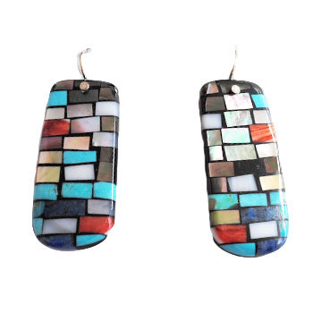 CHARLENE & FRANK REANO, SANTO DOMINGO EARRINGS