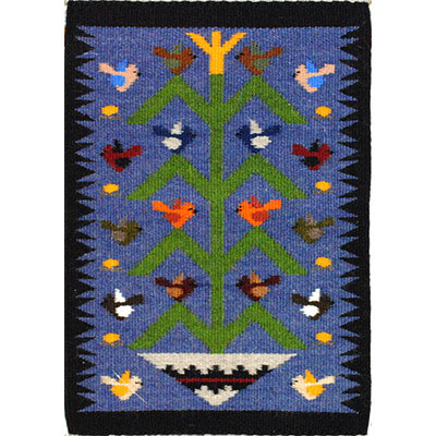 NAVAJO, TREE OF LIFE RUG, JOANNE BEGAYE