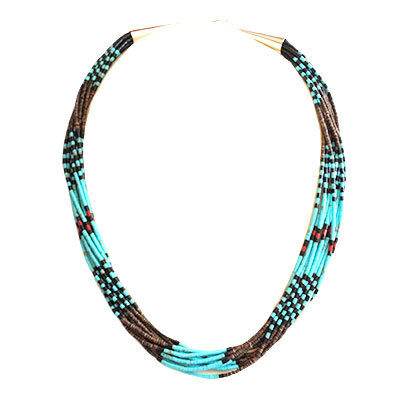 MAZIE TENORIO, ROLLED BEAD NECKLACE
