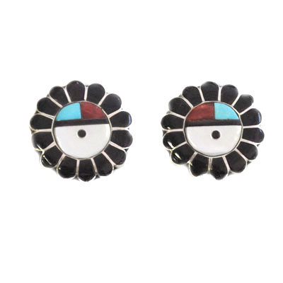 UNKNOWN ARTIST, ZUNI CLIP EARRINGS