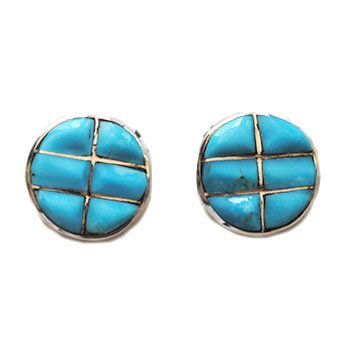 UNKNOWN ZUNI ARTIST, CUFF LINKS