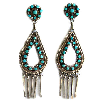 UNKNOWN ARTIST, ZUNI EARRINGS