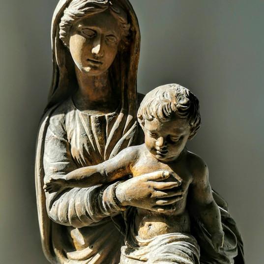 22-Vierge à l'enfant - presbytère de Quimper