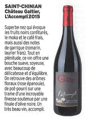 Cuisine et Vin de France article Saint chinian accompli.jpg
