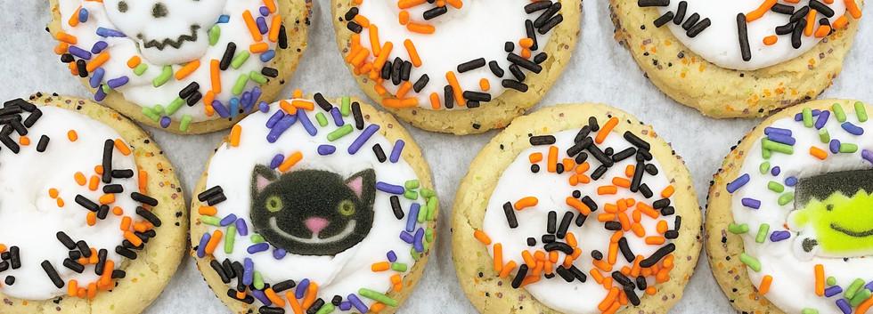 Mini Iced Sugar Cookies