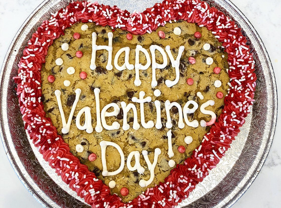 2lb Heart Cookie Cake