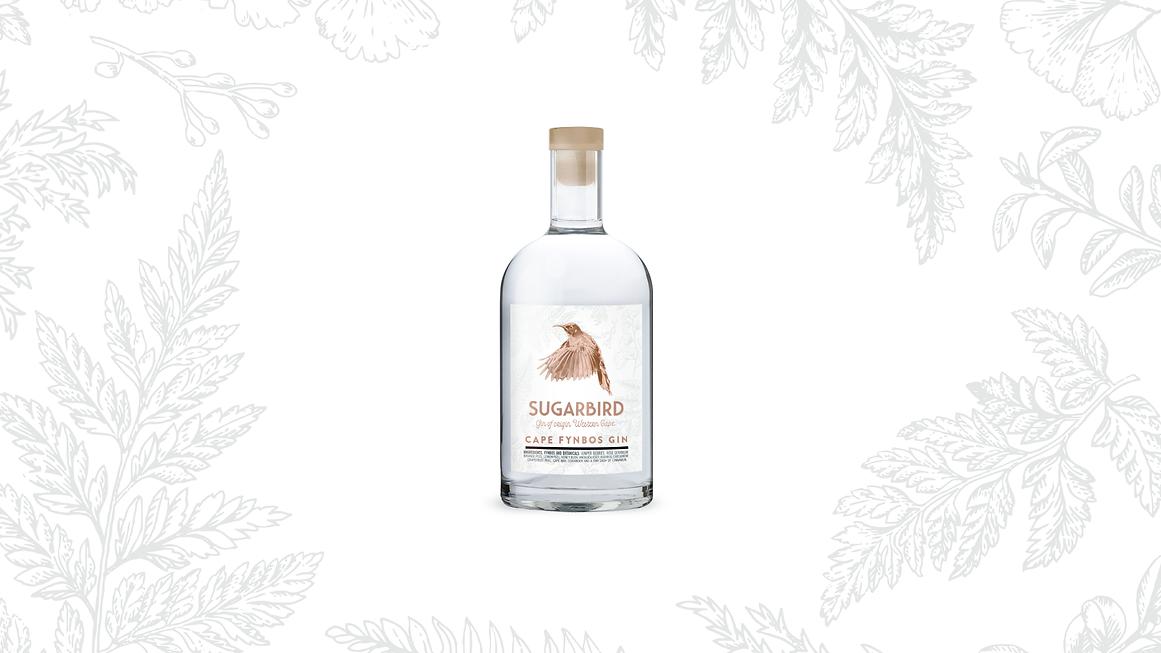 Sugarbird Gin Bottle