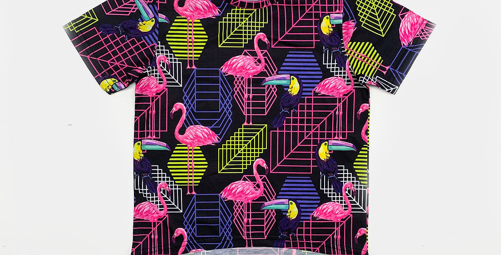 Digital Print Tunic T-Shirts | Girls