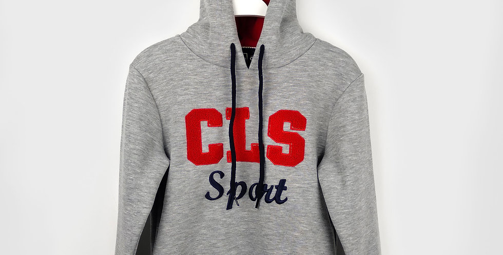 CLS Sport Grey Hoodie | Boys