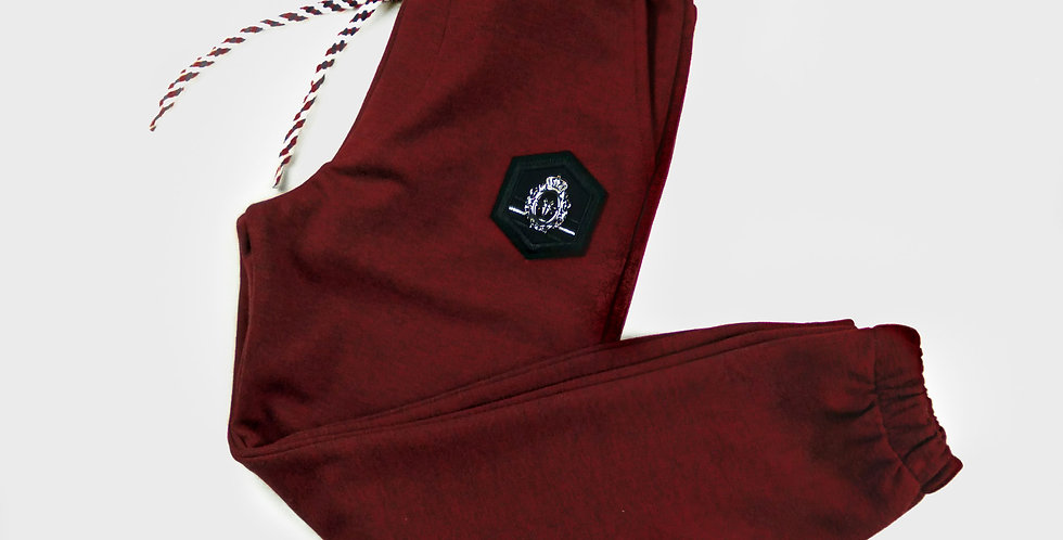 Claret Red Sweatpants | Boys