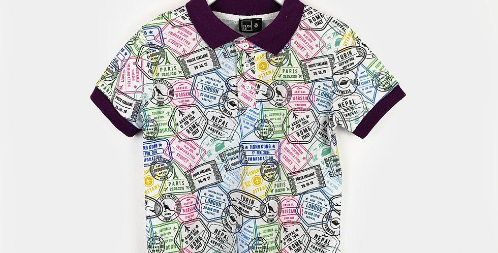 Stamp Polo Shirts | Boys