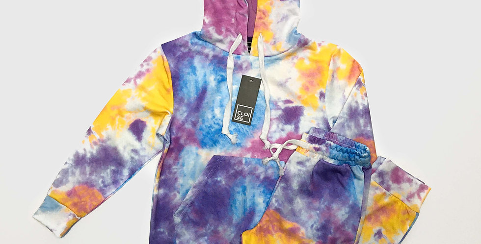 Tie Dye Tracksuits | Girls