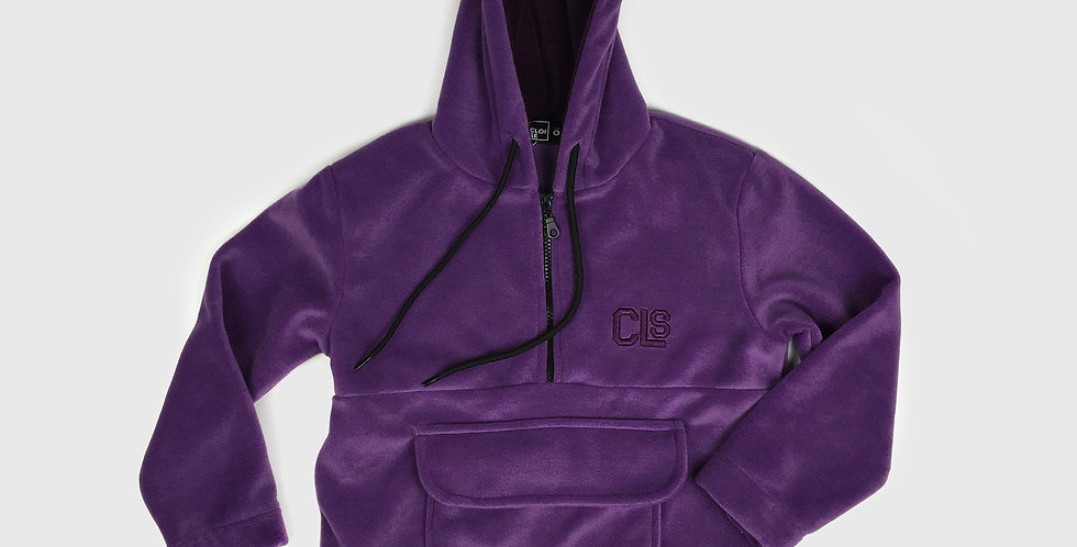 Polar Fleece Hoodie | Girls