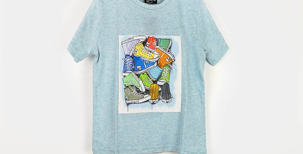 Converse Shoes T-Shirts | Boys