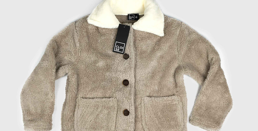 Trucker Fleece Jacket | Girls