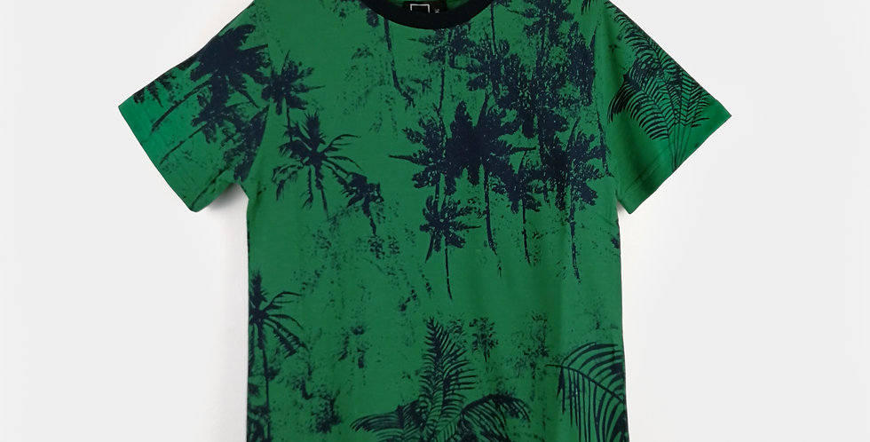 Palm Trees Printed T-Shirts | Boys
