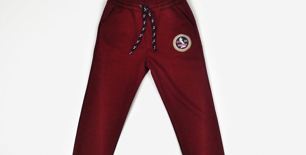 Claret Red Sweatpants | Boys