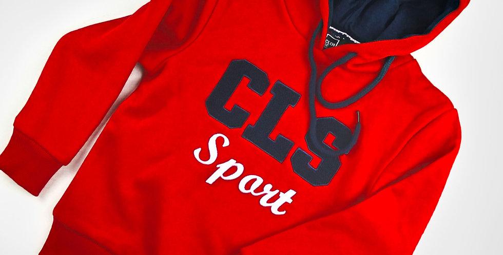 CLS Sport Red Hoodie | Boys