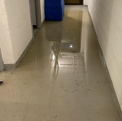 Bellevuevägen 2 - översvämning i källare