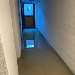 Översvämning Bellevuevägen 2, dag 2