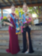Pictured above are the 2018 Fayette Co. Fair Queen, Megan Niewoehner (right) and 2018 Fayette Co. Fair Princess, Gene Anne Berst (left).