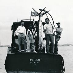 "Hemingways Boat the ""Pilar"""