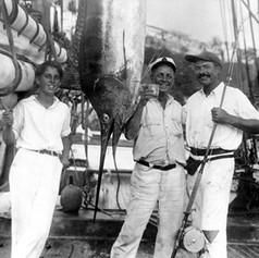 "Hemingway and ""Sloppy"" Joe Russell"