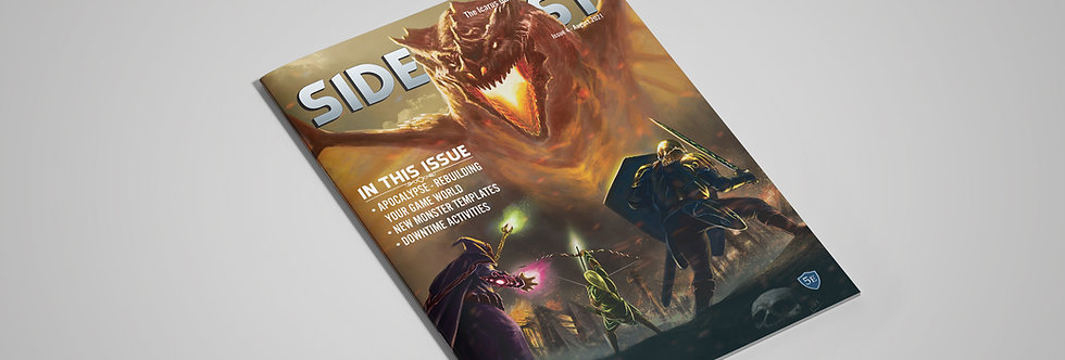 SIDEQUEST Issue 4 - August 2021