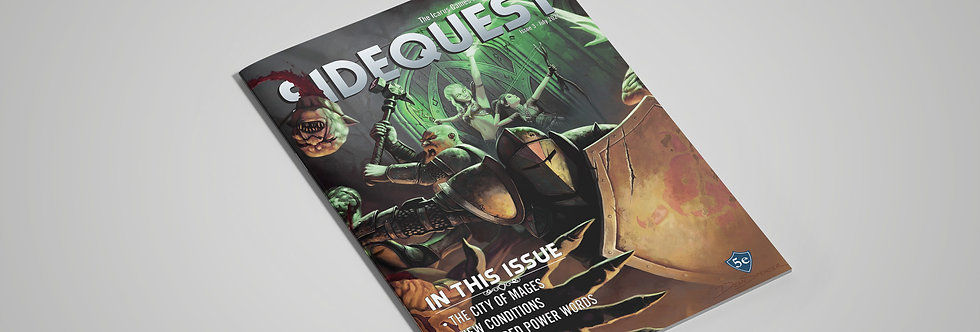 SIDEQUEST Issue 3 - July 2021
