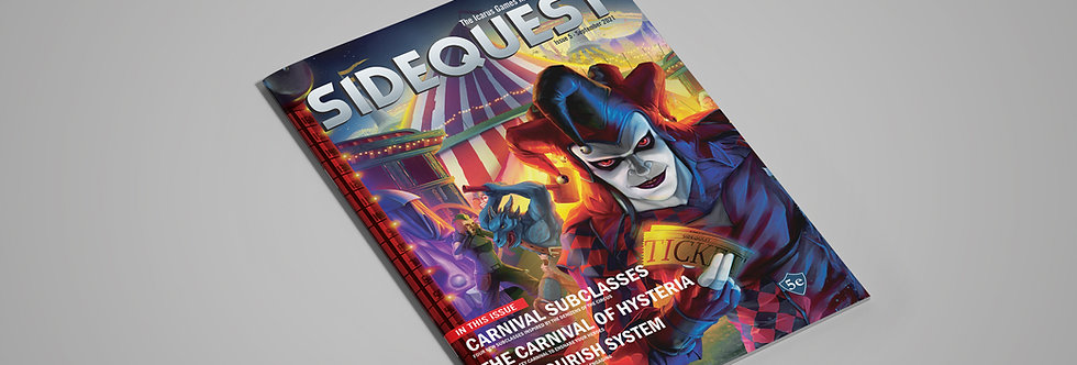 SIDEQUEST Issue 5 - September 2021