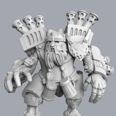 Dwarf Mech
