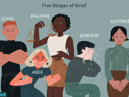 We are all suffering from some form of GRIEF again. What stage are you at?