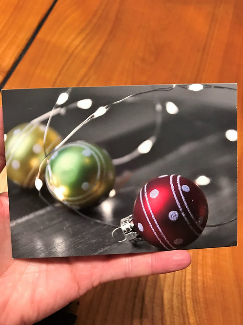 Ornament Photo Cards