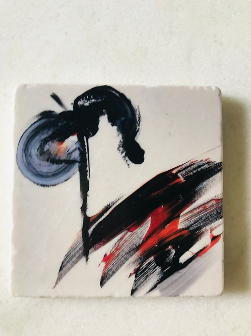 Set of 4 Art Coasters
