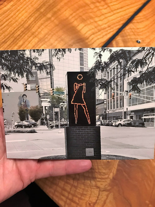 Dancing Girl Photo Cards
