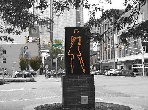 Indy Dancing Girl- print