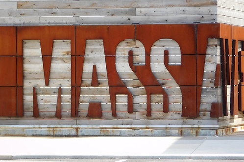 Mass Ave Sign